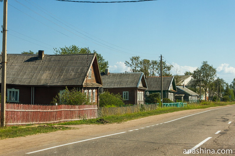 Деревня Мегрега, Карелия