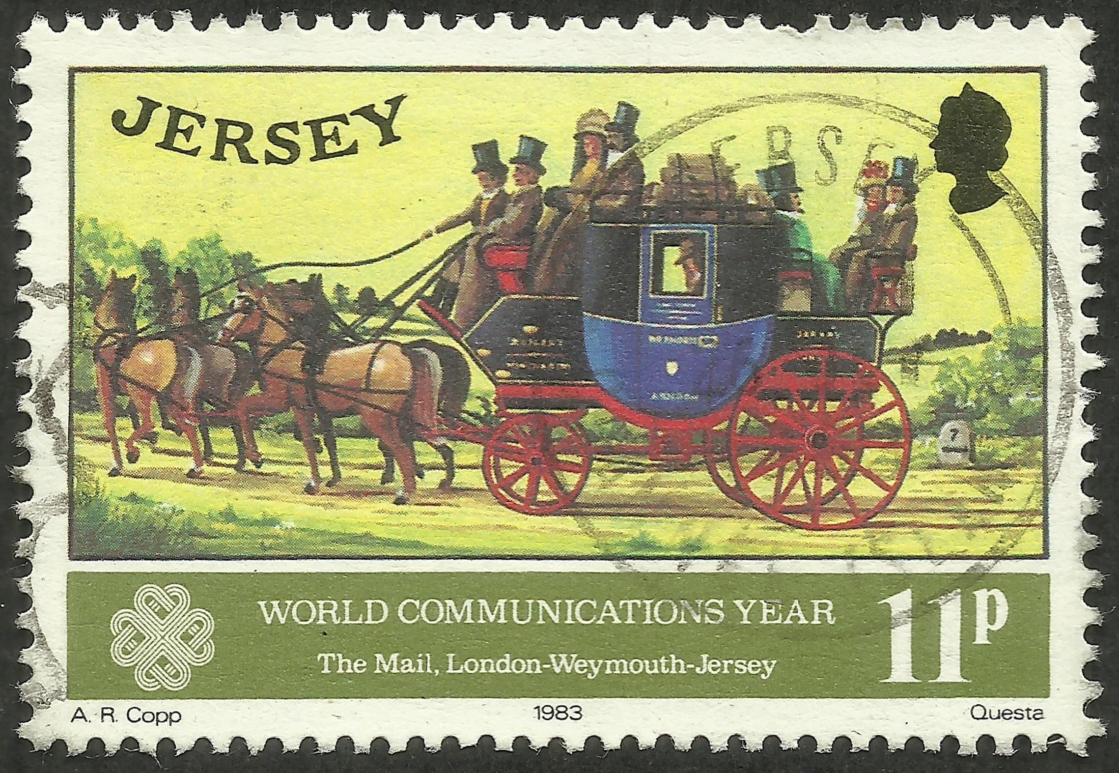 Jersey - Scott #311 (1983)