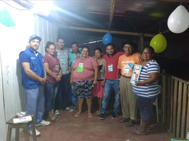 Conformación y convocatoria a Equipos de Desarrollo Comunitario y Conciliadores Comunitarios