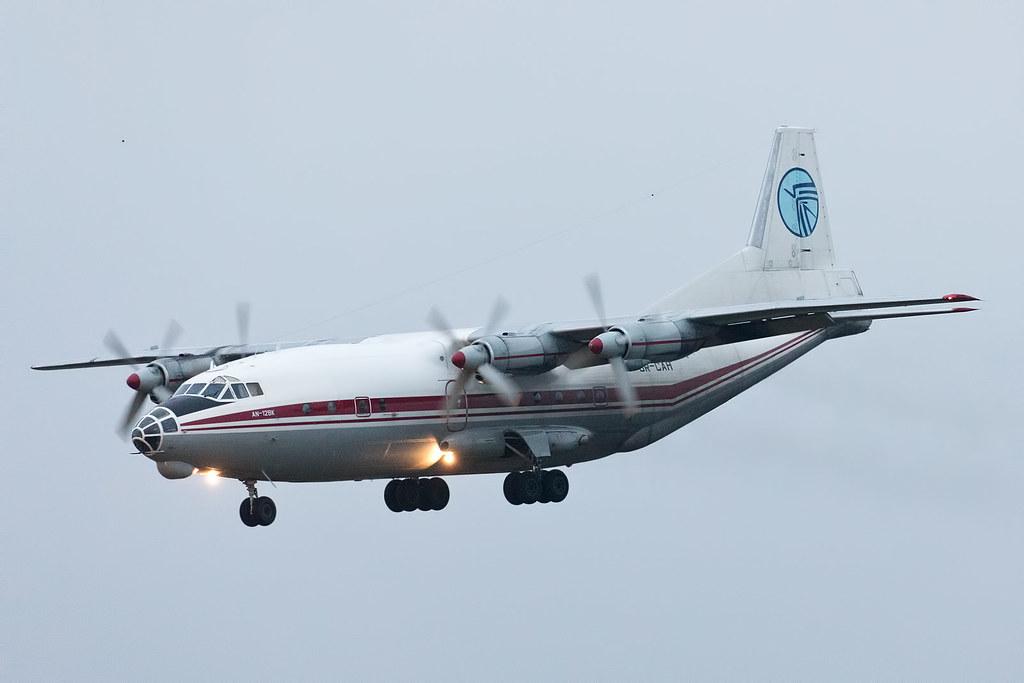 Antonov An-12BK da Air Alliance