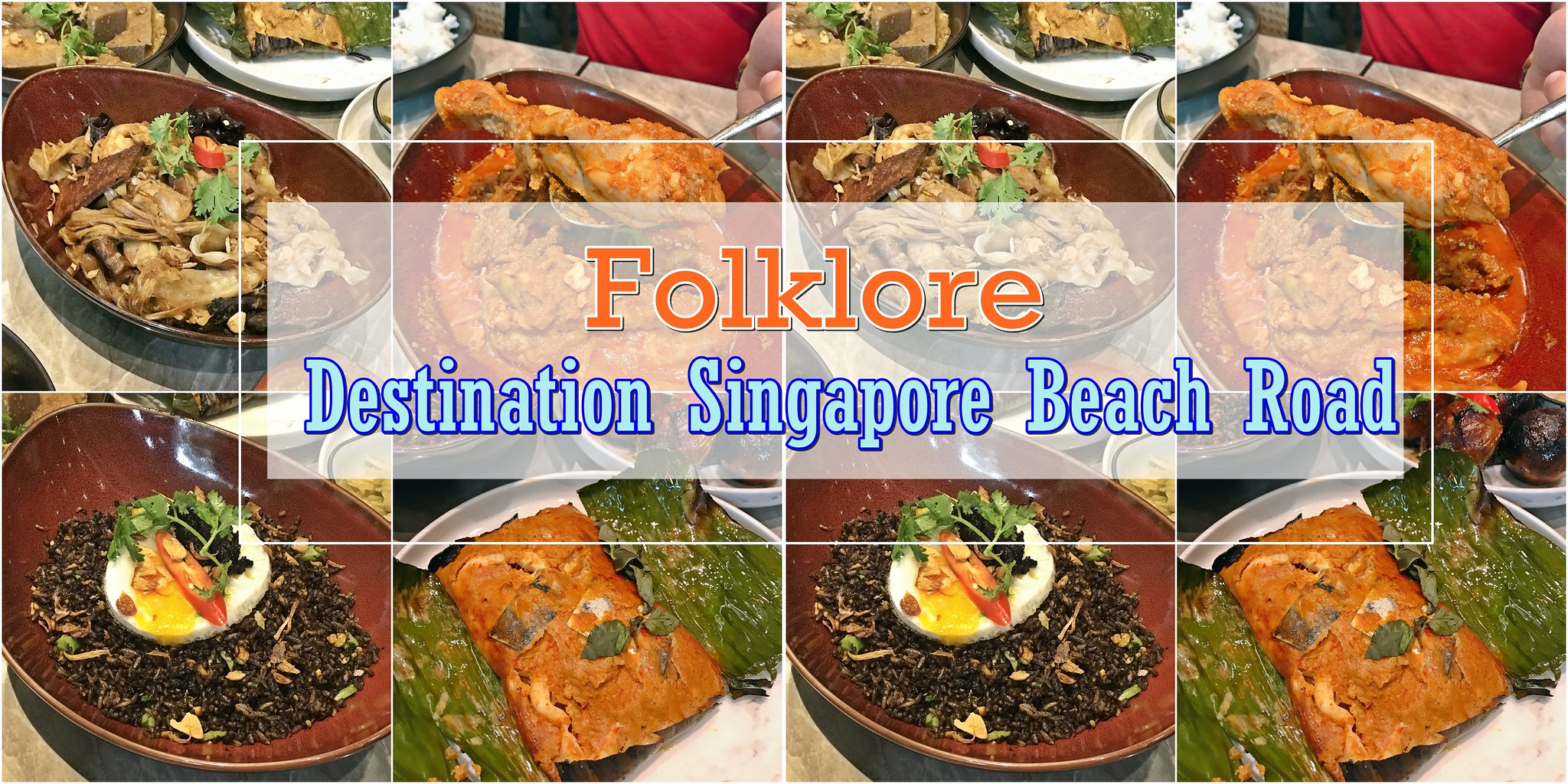 [SG EATS] Birthday Celebration Lunch At Folkore Restaurant | Destination Singapore Beach Road