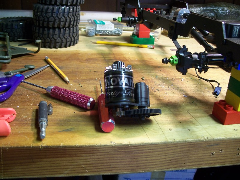 Building an RC sixth scale Jeep 30626653667_e35b2c8044_b