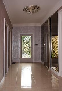 vitráže s fazetou