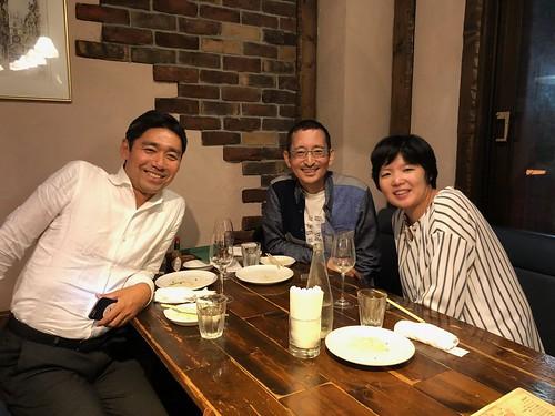 オーシャンブリッジ社長の中田さんとワイン会
