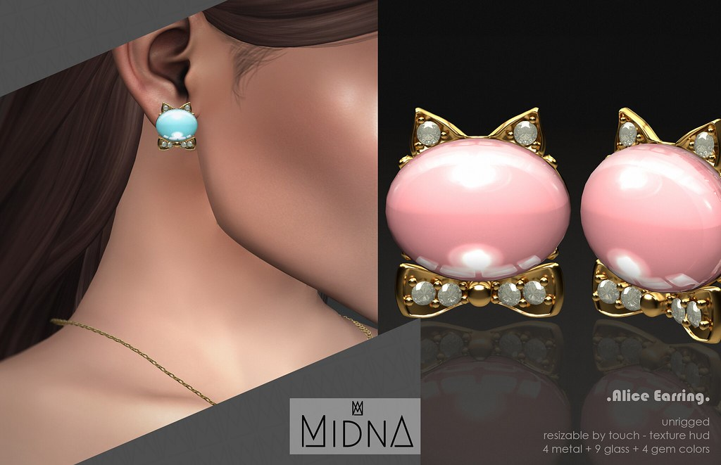 Midna – Alice Earring