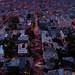 Lombard Street Sunrise by davidyuweb