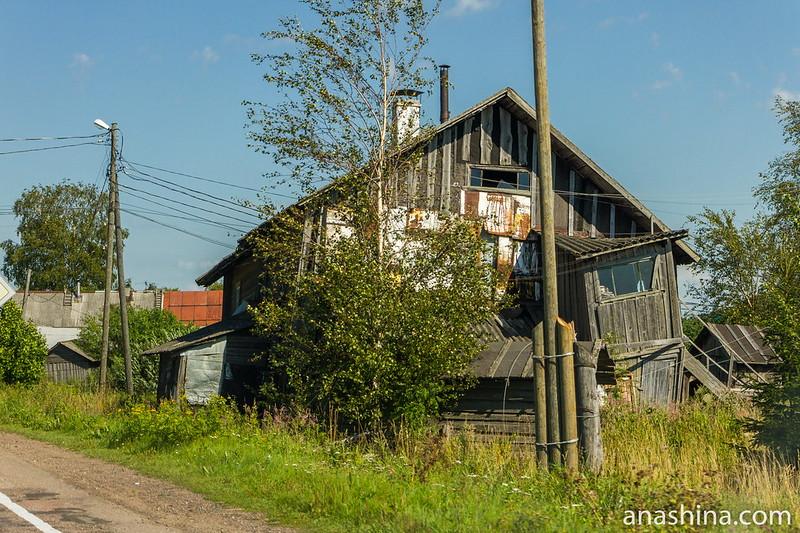 Заброшенный дом, Карелия