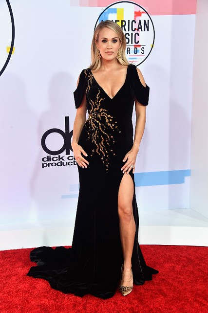 US-2018-AMERICAN-MUSIC-AWARDS---ARRIVALS