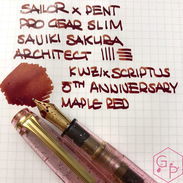 Scriptus Toronto Writing Show 2018 Inks - Maple Red & Northern Twilight! 55