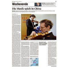 My photo in @tagesanzeiger after the tour with @lucernefestival and @riccardochailly . #xt3 #fujixt3 #fujifeed #fujifilm #fujilove #myfujilove #fujifilm_xseries #fujifilmnordic #fujifilmme #fujifilm_uk #fujixfam #twitter #geoffroyschied #35mmofmusic #publ
