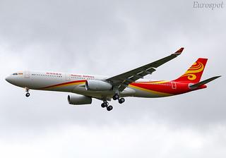 F-WWCZ Airbus A330 Hainan