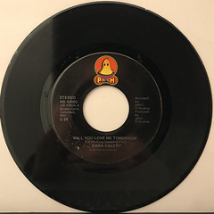 DANA VALERY:WILL YOU LOVE ME TOMORROW(RECORD SIDE-A)