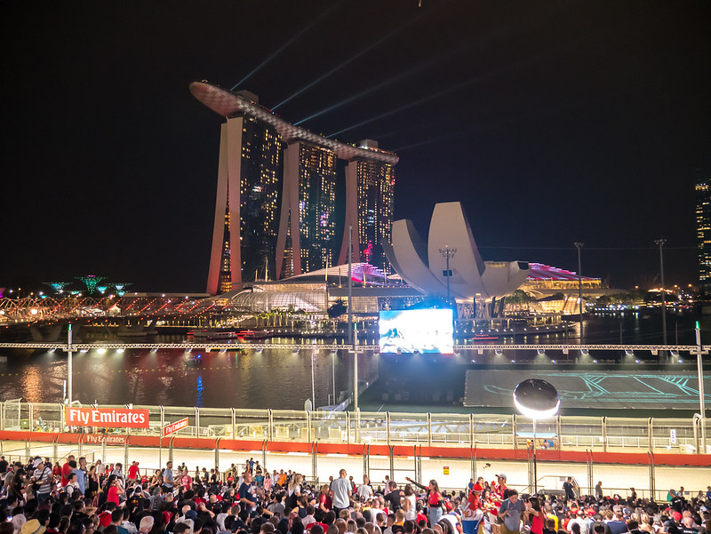 Formula 1 2018 Singapore Grand Prix, Marina Bay