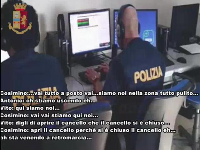 polizia di stato arrestati rapinatori