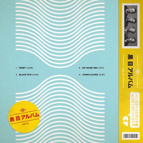 Black Eye EP // Back Cover