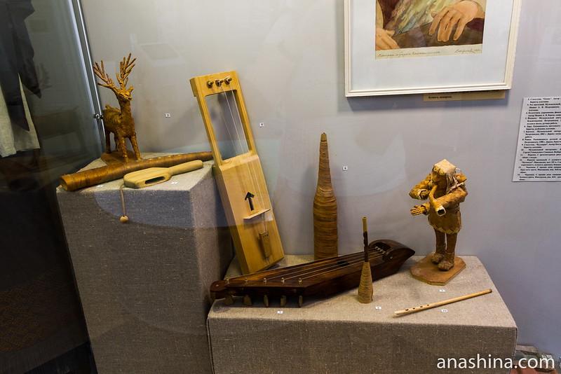 Карельские музыкальные инструменты, Региональный музей Северного Приладожья, Сортавала