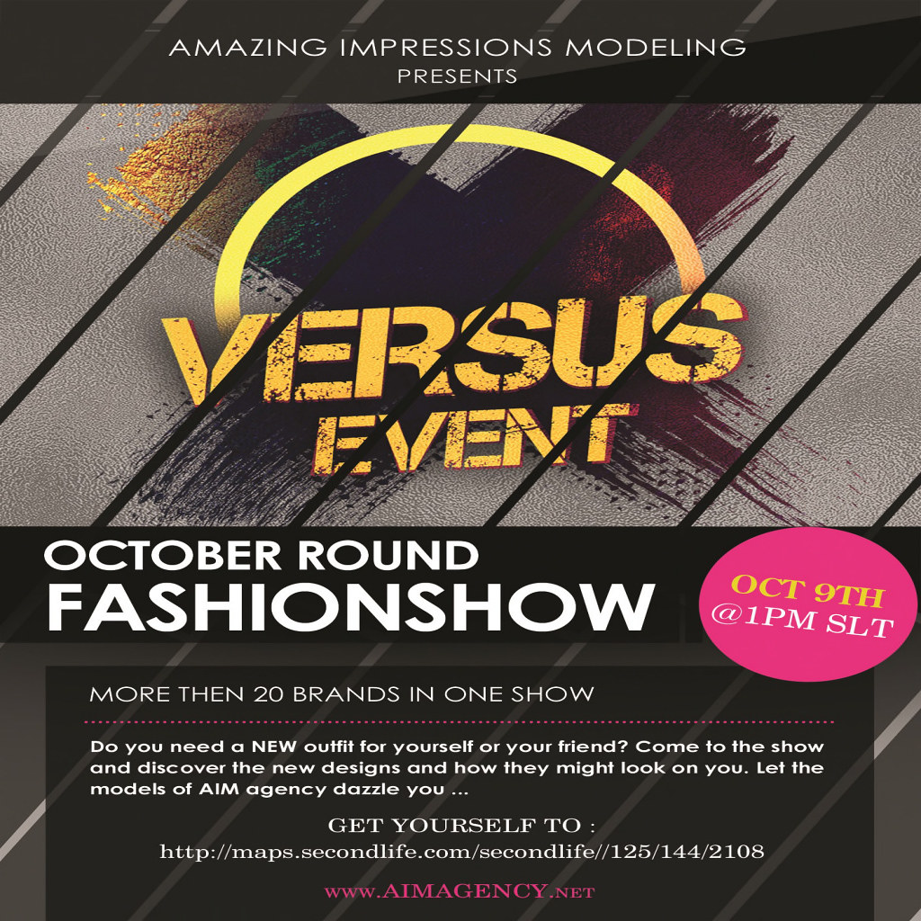 FASHION SHOW TODAY !@VERSUS