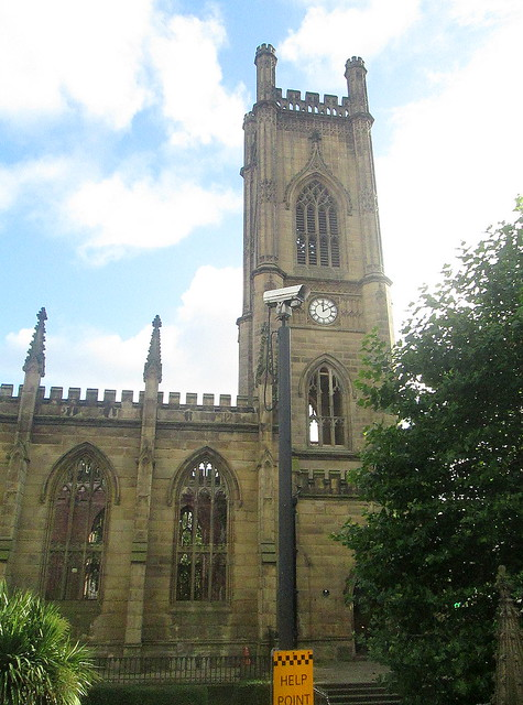 Bombed out Church Spire