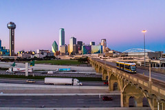 Dallas Streetcar; Dallas TX; 10/10/18