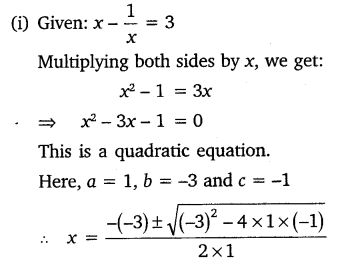 NCERT Solutions for Class 10 Maths Chapter 4 Quadratic Equations 21