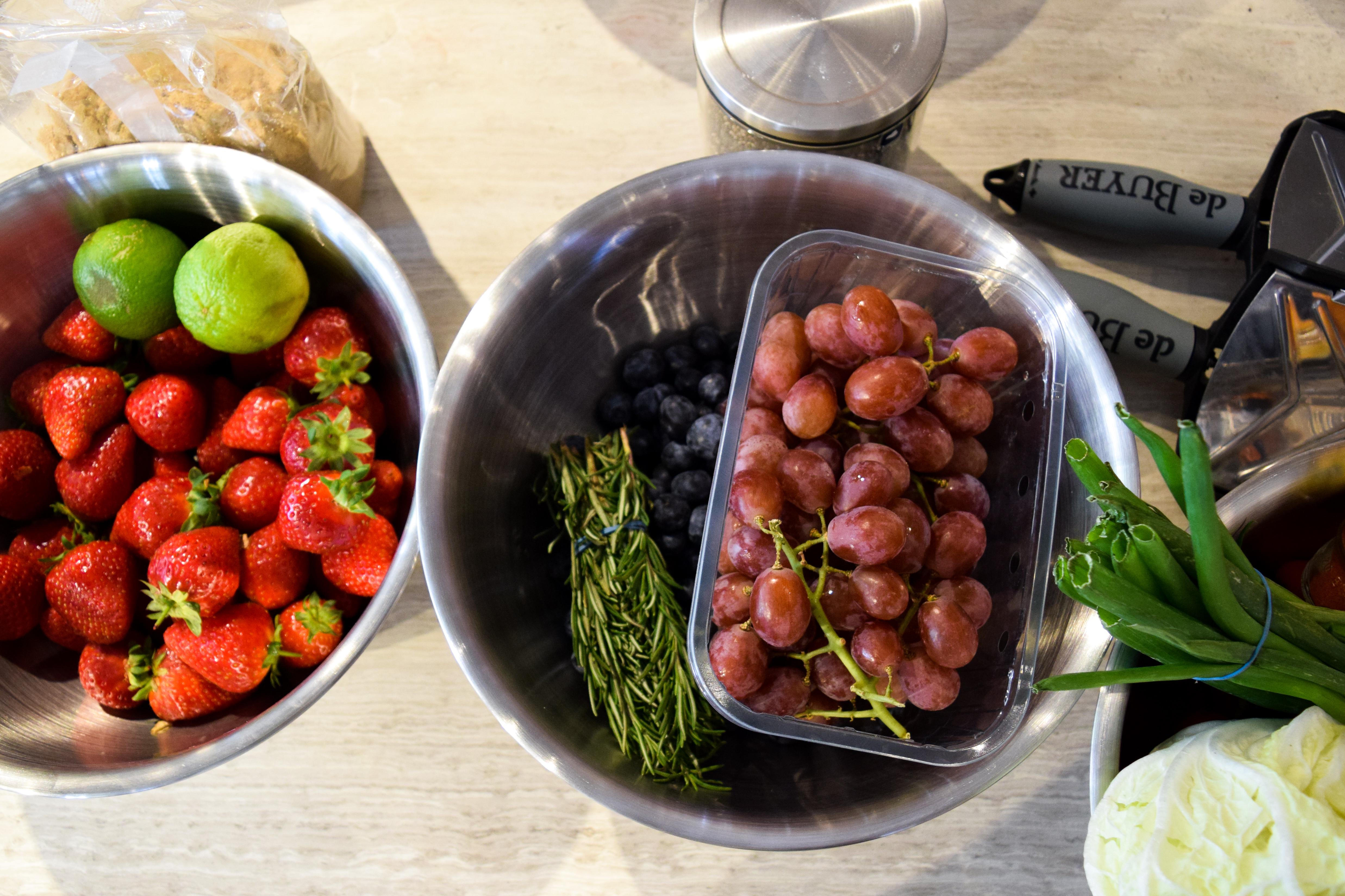Making Jams at the Jam and Preserves Masterclass at Borough Kitchen
