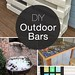 Best Ideas DIY and Crafts Inspiration : Cocktails Anyone? • DIY Outdoor Bars! • A round-up of Ideas and Tutorials fr...