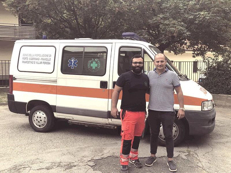 Porte: consegnata l'ambulanza