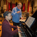 DSCN0001 Poom Prommachart rehearsing the Piano Concerto by Arthur Bliss with conductor John Gibbons. 4th October 2018. St Barnabas Church, west London. Ealing Symphony Orchestra, leader Peter Nall