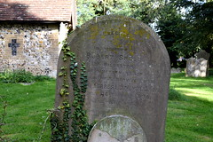 for nineteen years the faithful servant of Rev W Forbes Leith MA (Oxon)