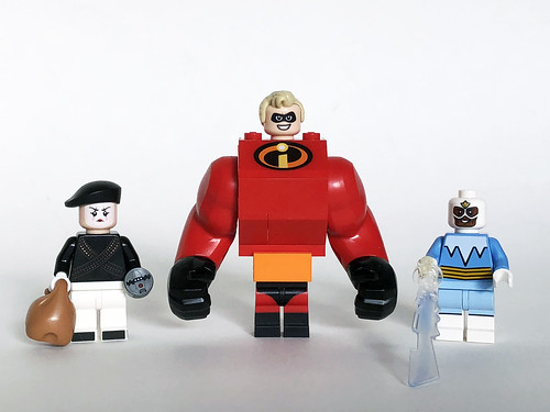 Bomb Voyage, Mr. Incredibly Swole, and Frozone | by Oky - Space Ranger