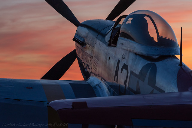 End of the Day - P-51D