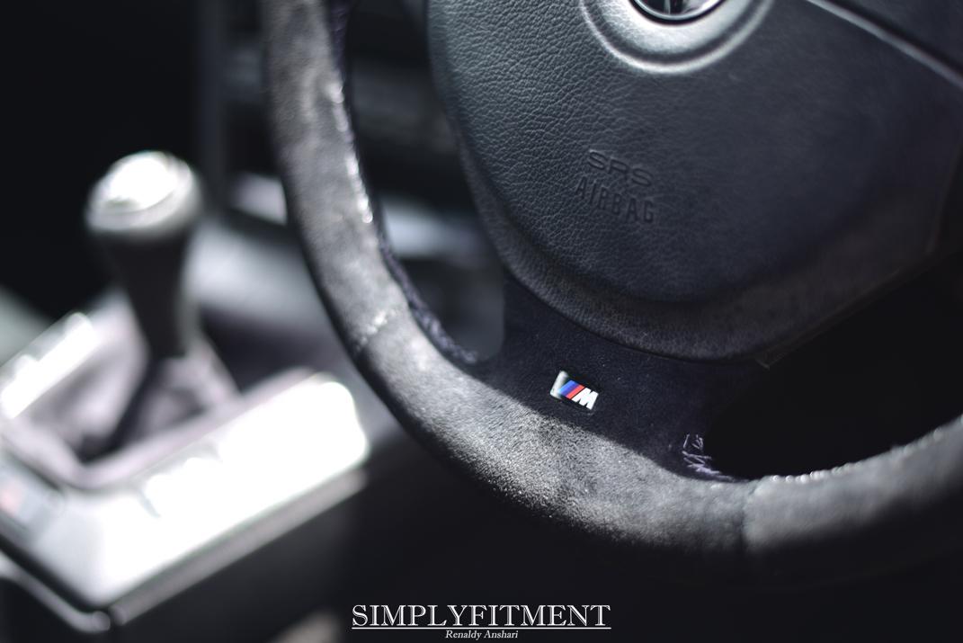 AZKA'S BMW ON ADVAN WHEELS