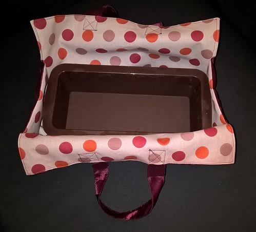 Sac à cake avec moule (fuschia)