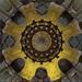 The columns and dome of Abu el-Abbas el-Mursi Mosque by T Ξ Ξ J Ξ