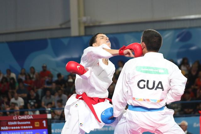 Pedropablo de la Roca en el karate de Buenos Aires 2018