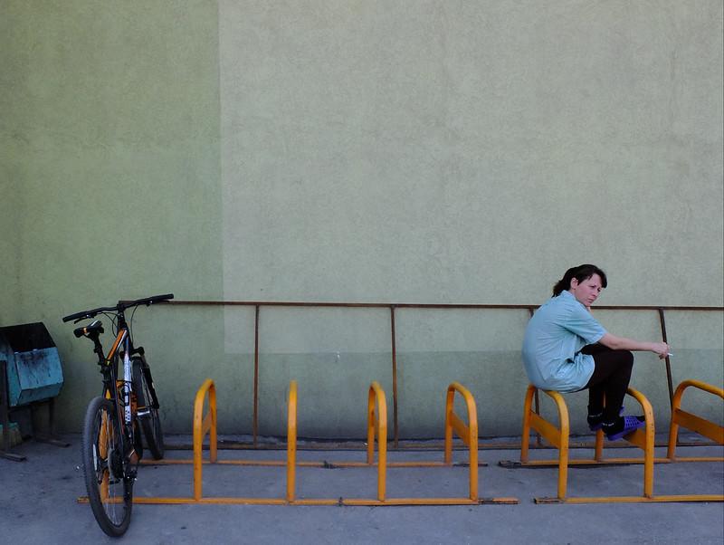 Как сделать идеальную велопарковку