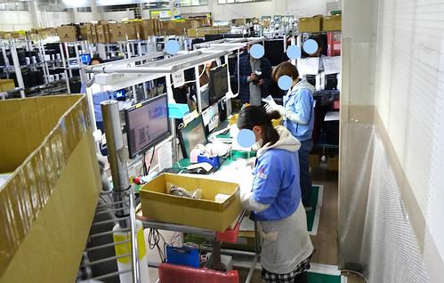 マウスコンピューターの工場見学