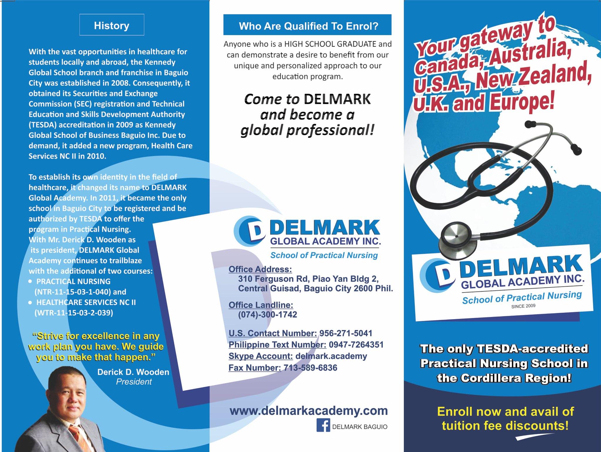 Delmark Brochure