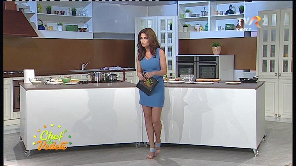 Aida Parașcan, o femeie superbă la cratiță