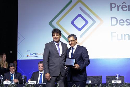 Ministro da Fazenda, Eduardo Guardia, participa da abertura do Prêmio Desempenho Funcional 2019