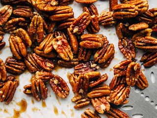 Maple-glazed pecans | by Ashlae | oh, ladycakes