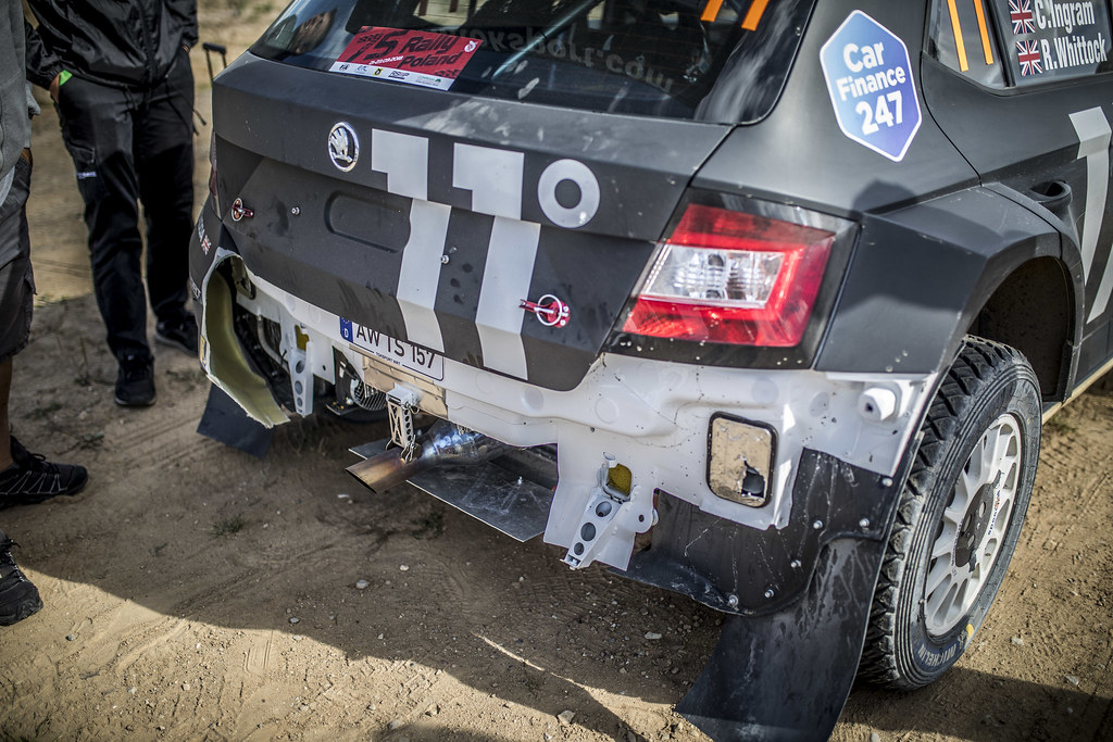 INGRAM Chris (GBR), WHITTOCK Ross (GBR), TOKSPORT WRT, Skoda Fabia R5, ambiance during the 2018 European Rally Championship PZM Rally Poland at Mikolajki from September  21 to 23 - Photo Gregory Lenormand / DPPI
