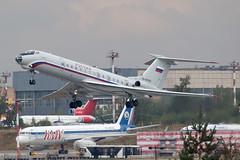RA-65905 Tupolev Tu-134A-3 Rossiya Special Flight @ Moskau-Vnukovo VKO