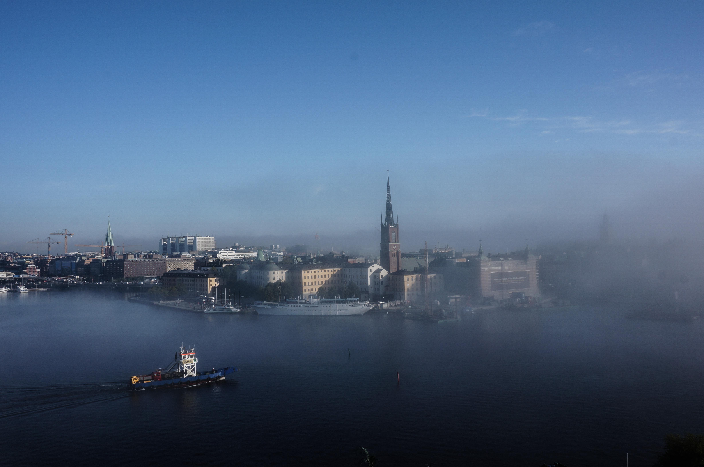 Foggy Stockholm