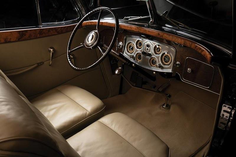 1934. Packard Twelve Convertible Victoria by Dietrich 1108-4072.