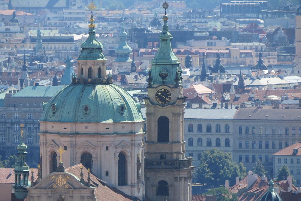 Svatomikulášská městská zvonice.