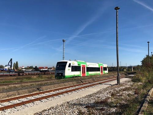 Könitz (Thür) Tw der Erfurter Bahn
