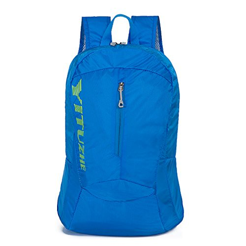 Cheap HSHINE 25L – Lightweight Packable Waterproof Hiking Backpack for Men and Women/Durable Foldable Handy Travel Daypack – Nylon (Blue)