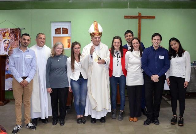 Misa de sacramentos en el Inst. Sáenz (2018)