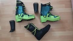 Prodám skialpové boty TLT 6, vel.280-285 mp - titulní fotka
